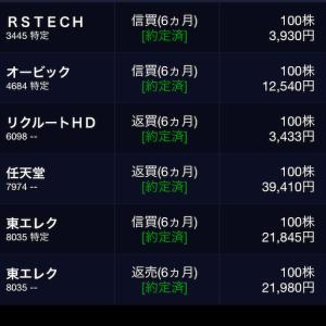 10月17日の株式投資実績(手取り損益+23,351円)