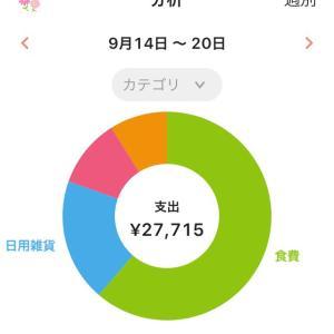 2020.09.14〜09.20*おうちのやりくり日記