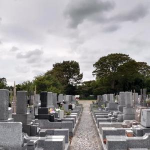 墓参り(9月21日)