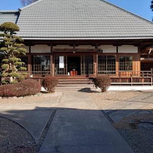 茨城県独自の緊急事態宣言と1周忌法要(2021年1月16日)