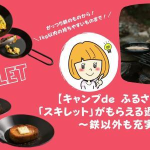 【キャンプde ふるさと納税】「スキレット」がもらえる返礼品まとめ〜鉄以外も充実!