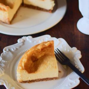 ベイクドチーズケーキ&受験生感が出てきた