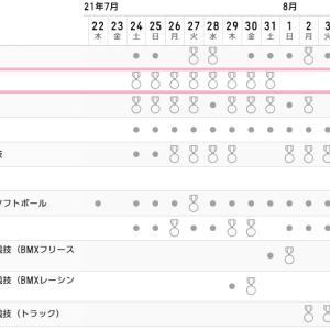 戦士の休息 東京オリンピック2020競技スケジュール 海老名市柔道日記