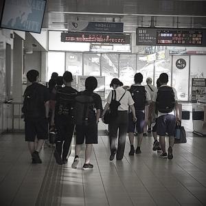 2012/08/07 藤嶺学園藤沢高等学校柔道部様へ出稽古に行きます!海老名市柔道日記