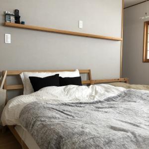 【間取り】寝室は物干し場である
