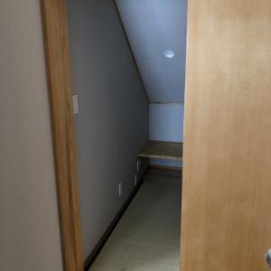 【寝室】一畳書斎