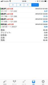 7/8の検証結果 +5000円