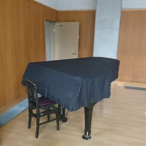 JICA駒ヶ根 派遣前訓練 息抜きピアノ