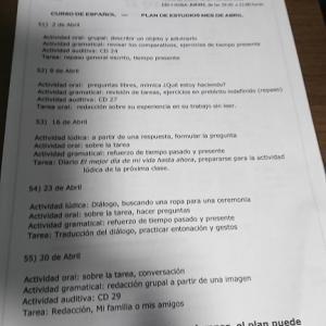 スペイン語学習再開