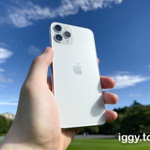 iPhone 11 Pro/Pro Maxの色選び。人気色・おすすめカラーは何色?シルバーとミッドナイトグリーン購入