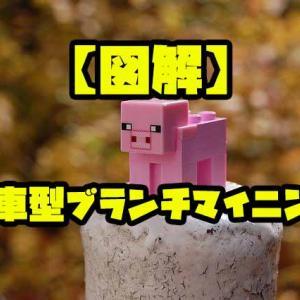 【PC版マイクラ】風車型ブランチマイニング【図解】