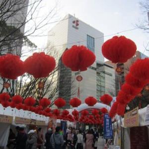 今年の福岡の春節祭は延期にーコロナウイルス対応のため