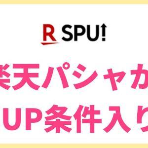 楽天パシャがSUP条件入り!達成するのはまあまあ大変【2019年版】RakutenPasha