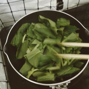 野菜ときのこをたくさん食べよう
