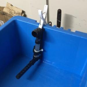 洗濯バサミ式スポンジフィルター