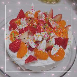 三兄弟のケーキ作り