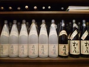 焼酎(一升瓶)の在庫