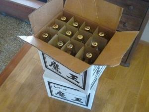 焼酎(小瓶・中瓶)の在庫