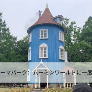 ムーミンのテーマパーク:ムーミンワールドに一度は訪れたい!