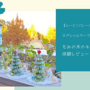 【ムーミンバレーパーク】スペシャルワークショップもみの木のキャンドル体験レビュー