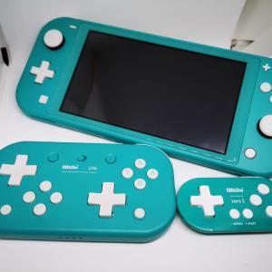 【Switch Liteにおすすめ】小型でかわいいスイッチコントローラー2選!
