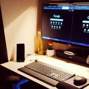 【BenQ WiT ScreenBar Plus レビュー】省スペースで仕事が捗るモニター掛け式ライト!