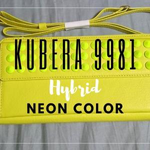 KUBERA9981 Hybrid ネオンカラーショルダーウォレット(スタッズ付き)レビュー!大人にこそ使ってほしい本格革財布