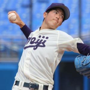 広島カープ・ドラフト1位指名・森下暢仁投手六大学慶応戦で159球完投11奪三振!!