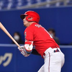 中日戦・鈴木誠也2ホームラン・大瀬良大地2試合連続完投・4-1で快勝!