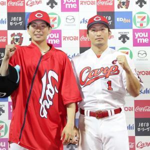 中日戦 連勝で最下位脱出 鈴木誠也の初回決勝打でガリガリ大瀬良が3勝目
