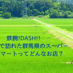 鉄腕!DASHで訪れた群馬県のスーパー【いずみマート】ってどんな店?