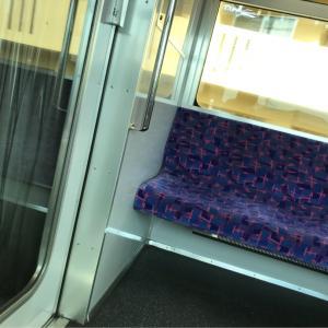 名鉄・瀬戸線の電車に乗ってます