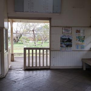 サンキュー♥ちば ずらし旅⑤上総鶴舞駅のトイレ。
