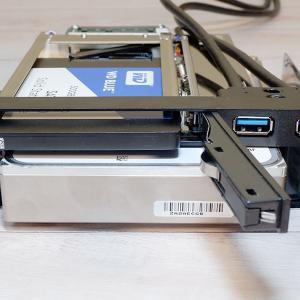 【ガチャポンパッ!】5インチベイにSSD/HDD増設 OWLIE5CU3Bレビュー