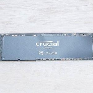 【CT2000P5SSD8 レビュー】Crucial P5はハイエンドNVMe M.2 SSD