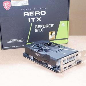 【レビュー】MSI GeForce GTX 1650 D6 AERO ITX OCV2