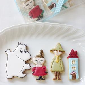 ムーミンのアイシングクッキー♪