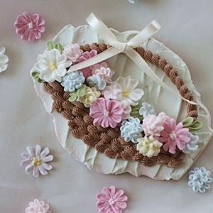 アイシング~可愛いお花絞り♪~