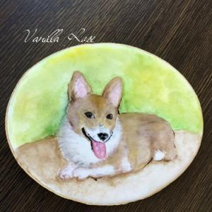 愛犬の思い出アイシングクッキー♪