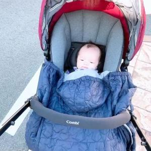 コンビスゴカルα compact使用レポ【ベビーカーデビュー】