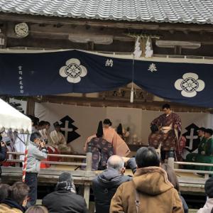 飯盛神社に行ってきました