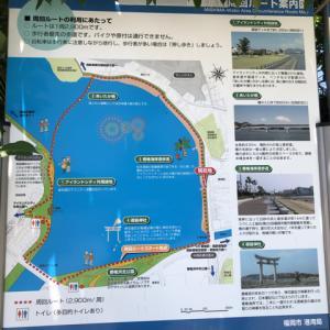 20210529御島水域周回ルートと香椎宮