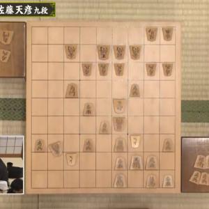 昨日の将棋観戦