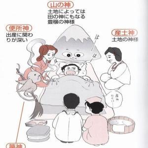 家のなかの不思議3(出産、胎盤、産着)