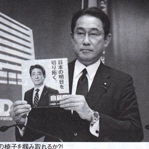 岸田文雄・二階にケンカ売り総裁選ヘ