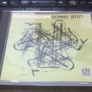 CD届きました! ソニー・スティット 「カレイドスコープ」。RVG最初期録音。