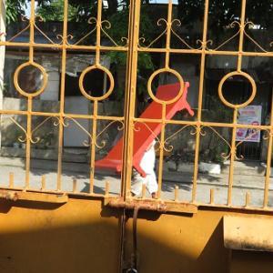 長椅子行商人(フィリピン)