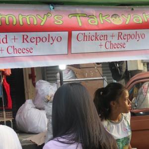 カップ入りのタコ焼(フィリピン)