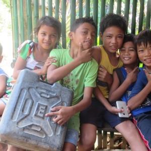 避難中(フィリピン)