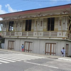 石造りの旧家(フィリピン・ルソン島)